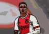 Justin Kluivert Ajax Tactical Analysis