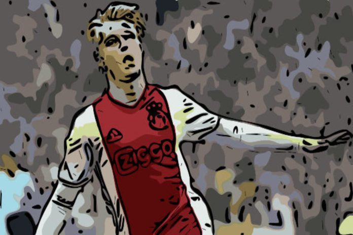 Kasper Dolberg Ajax Eredivisie Tactical Analysis Statistics